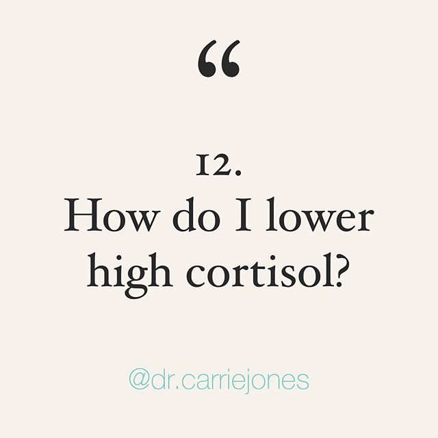 Question 12: help! My morning cortisol is HIGH! How do I get it down? What magic supplements can I take? 🤷🏼♀️ . I'm in the middle of a big cortisol series...if you have questions PLEASE go read the other 11 Instagram posts first. 🤓 . I've already answered why it might be high (go read it) so let's cover what to do. 🤔 . First, second, third, fourth and fifth...address the cause. 😱 . I know. Don't hate the messenger. But y'all, if your morning cortisol is high because of your stressful day, your blood sugar, your pain, your infection or your inflammation...*maybe* cortisol is doing its JOB to counter these things and you need to address these things! 😮 . As you work with your practitioner though, here are some helpful band aids! 🤗 . Whatever you do in the morning for your cortisol (meditation, breathing exercises, journaling, vagus nerve stuff, stretching, or prescribed supplements), do it within 30 minutes of waking. 🤯 . You're trying to influence your cortisol awakening response (go read the IG post). This generally peaks 30-60 minutes after waking up! 👍🏼 . But first determine if you SHOULD lower your cortisol. Maybe your cortisol is high to protect you?! And if you force it down with tons of supplements, you might do more harm than good. 🤬 . I will say anticipatory stress for the day is HUGE! So if you're 💯 sure it's that, when you wake up do vagus nerve exercises (google them), do a 5-10 minute meditation app, do relaxation breathing exercises (google it), determine WHY you have anticipation stress and address it, and ask your practitioner about calming supplements. 🙂 . Stop 🛑 before you ask me what to do or take, remember I'm in a series. Read my older posts and stay tuned. Also find a practitioner by messaging @dutchtest for cortisol testing! 🙌🏼 . Hopefully this helps!  Loving the series? ♥️ it, save it and repost it (but tag me!). Much more to come!! 👏🏼 . . . . . #crazyday #busyday #goodmorning #stress #stressed #stressedaf #tired #tiredaf #burnedout #womenshea