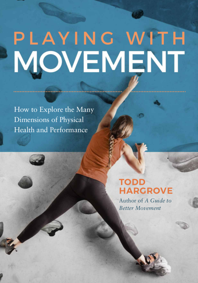 """- """"Hargrove's insight and crystal-clear writing lead the reader on an informative and enjoyable journey. Playing with Movement weaves together a broad swath of research related to optimizing perfomance and reducing pain.""""-Stephan J. Guyenet, PhD, author of The Hungry Brain"""