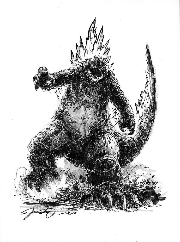 Godzilla. $150