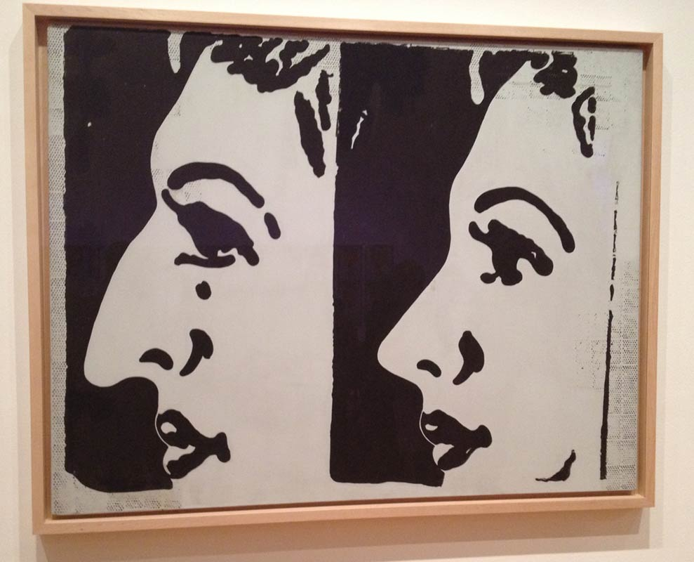 Before and After   by Andy Warhol. Casein and pencil on canvas.