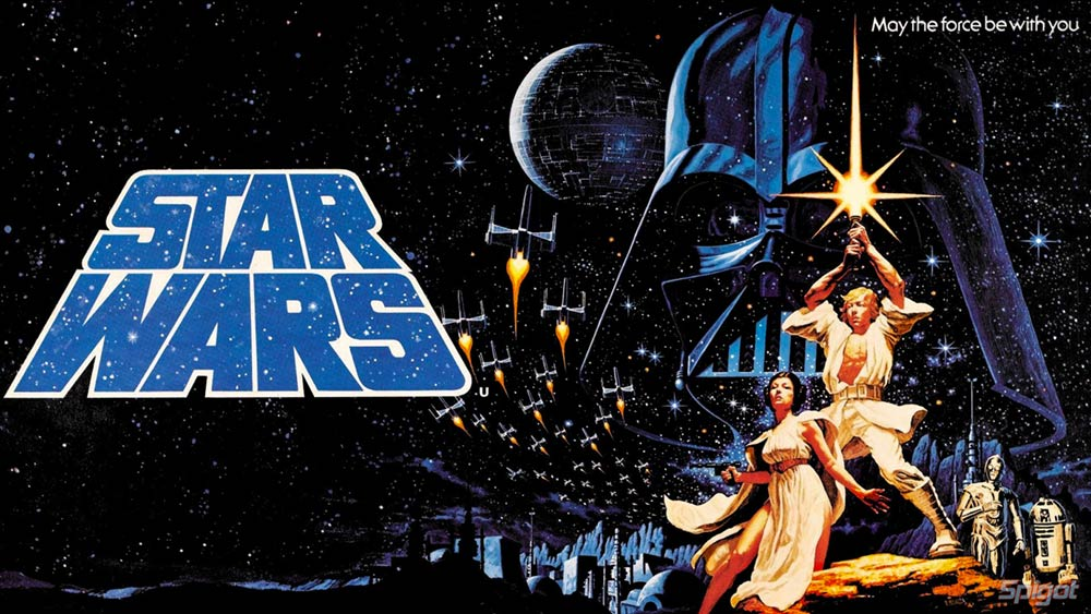 My favorite Star Wars poster by the Hildebrandt Brothers.