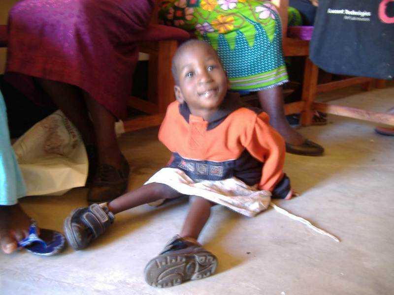 Above:  Baby Jane  - Bulamo Orphan Care. Jane was HIV-positive, unable to walk, and suffered from cerebral palsy.    Starfish Malawi exists for children such as Jane, and individual stories of love courage and hope inspire us all to keep doing the best we can for the children of Malawi.