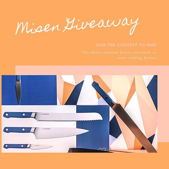 We're having a special giveaway to celebrate Mother's Day! 🎉 • •  A Cut Above The Rest #Giveaway: Win the perfect knife set from @misenkitchen and say farewell to dull knives! This set has helped me save time and energy while meal prepping and over 14,000 backers supported on @kickstarter.  Winner announced next Sunday (5/19). • • For official entry: 1) Follow @beyondmytitle on Instagram ✔️ 2) Tag a friend(s) who would love to step up their cutlery game with quality knives 🔪🔪 3) Tag your favorite dish to prepare in the kitchen below! 🍅🥦🍆🥑🥕🍗🥩🍠 • • This giveaway is Keep cutting up and tag a friend! ONE WINNER WILL BE ANNOUNCED ON 5/21 - Good luck folks! • • • #beyondmytitle #misen #mothersday #mothersdaygiveaway #kitchenware #cutlery #giveaway #contest #tagafriend #follow #free #giveawaycontest #knives #kitchen #mealprep #kickstarter #win