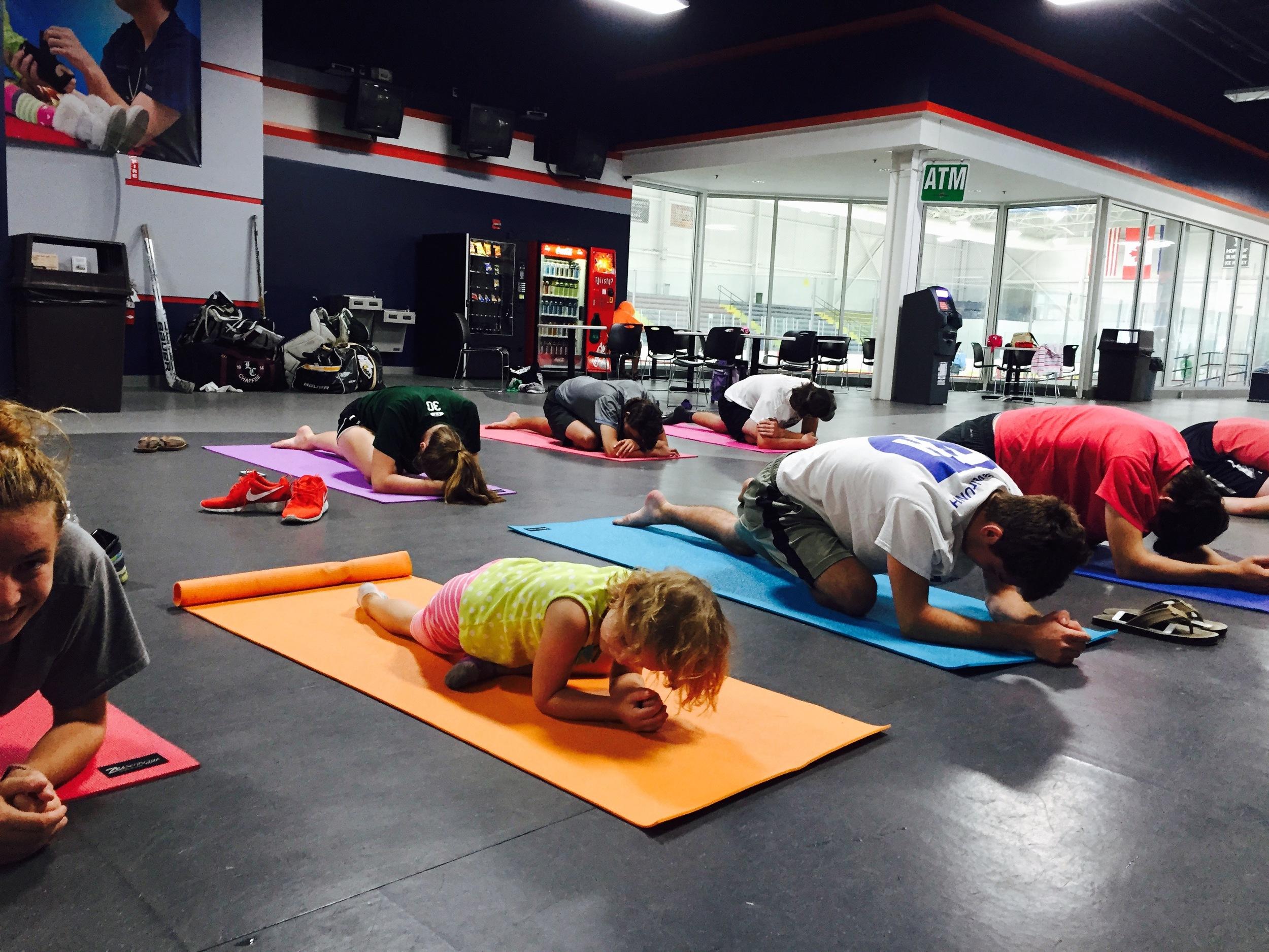 Class Schedule Saltwater Yoga Studio