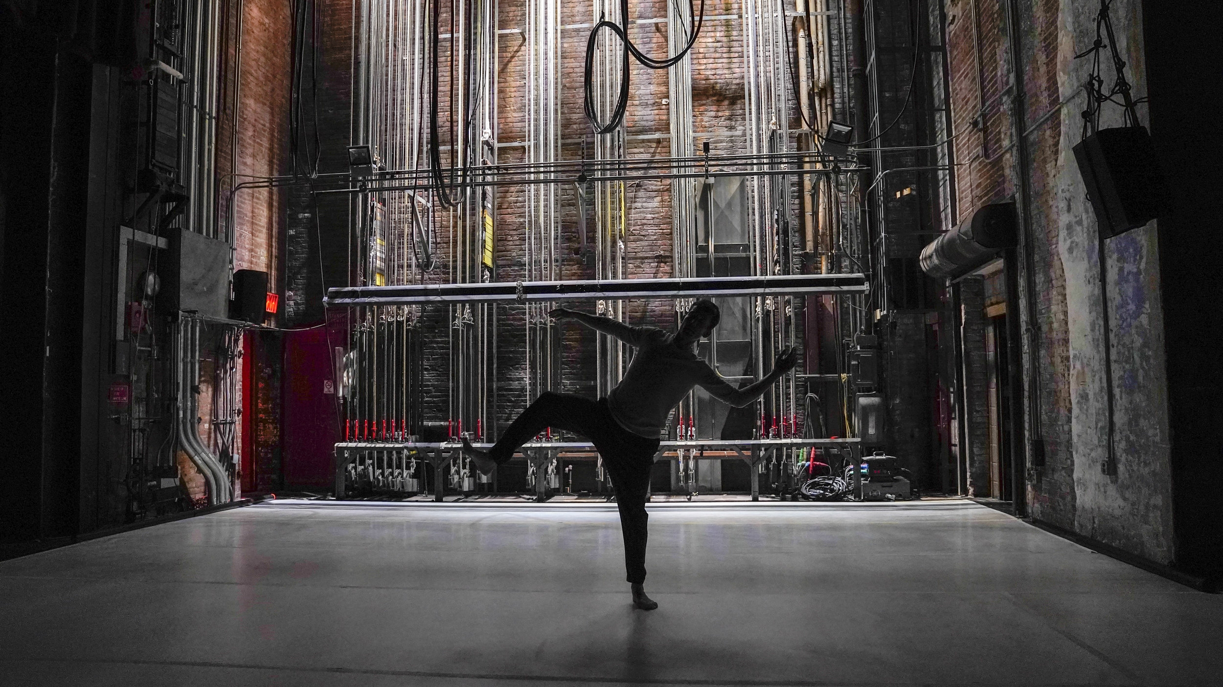 Dylan Crossman in Here We Are. Photo by John Suhar.