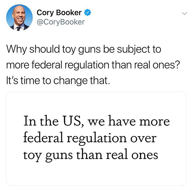 Wanna give credit where it is long overdue. Cory Booker has released the most comprehensive agenda addressing gun control. I think as we move forward with this election, it is worth highlighting what we like from candidates and bring them to the table - support and nurture these positions regardless of who wins. As a party, we will come out stronger. Thank you @corybooker for pushing this forward.
