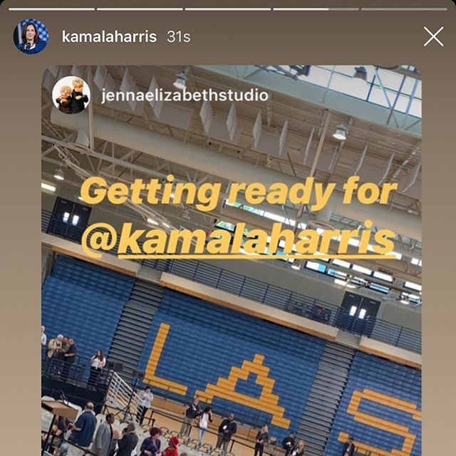WHEN @kamalaharris SHARES YOUR STORY... 📡😱