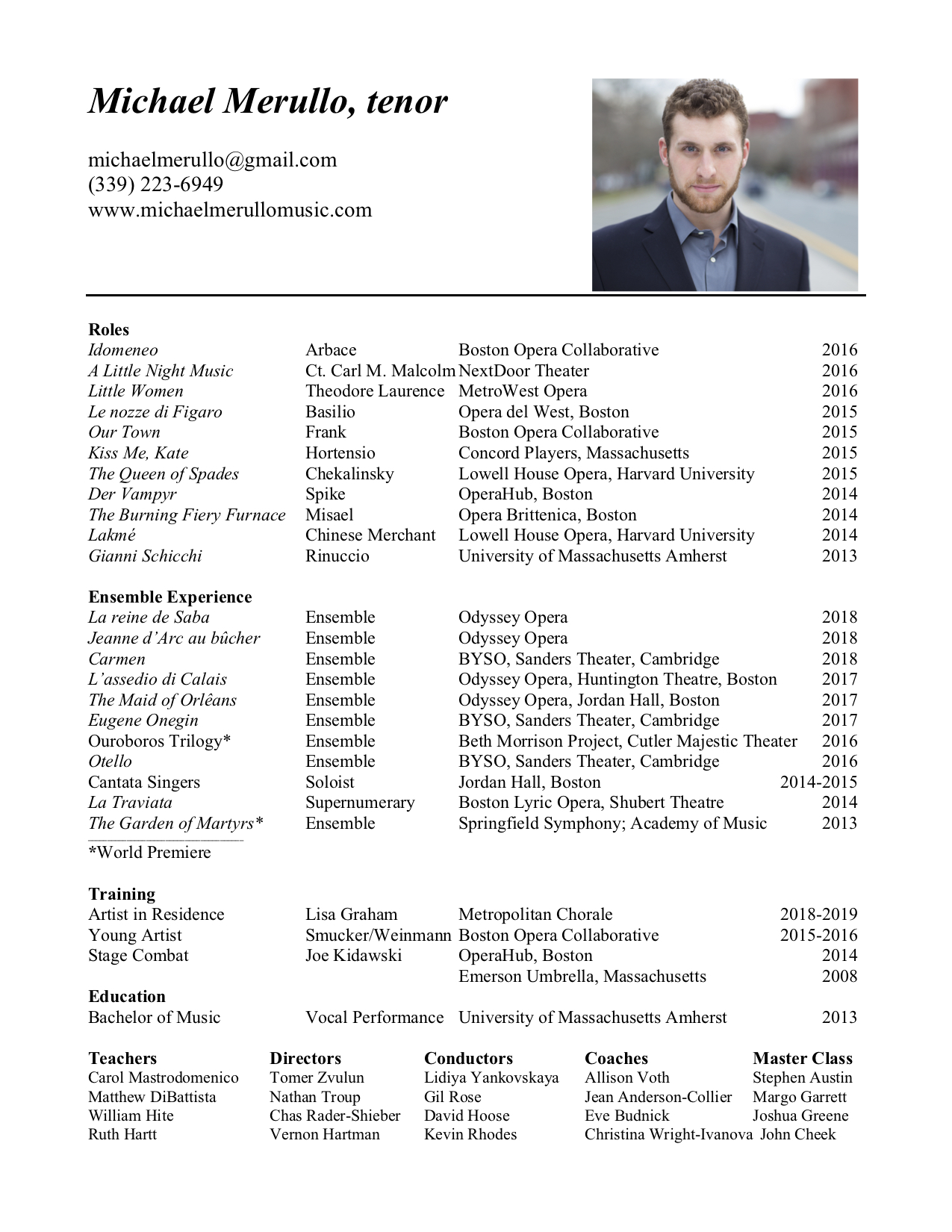 Michael Merullo Resume. jpg