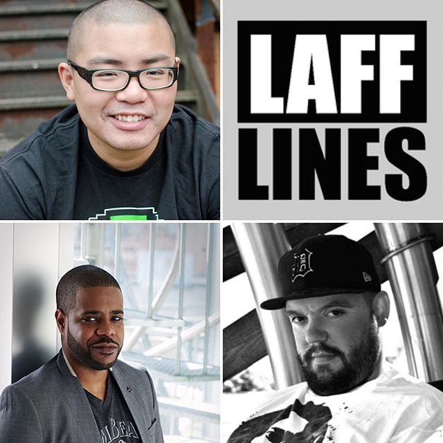 April 12/13 - International headliner Ed Hill takes the stage this weekend being joined by Ryan Lachance and your host Kwasi Thomas Friday Show at 9PM  Saturday Show at 8PM Doors open 1 hour before showtime Tiks available at Lafflines.com #comedians #comedy #funny #lafflines #comedyclub #newwestminster #weekendvibes #laughter