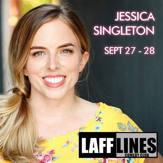 Hey look! It's @jmscomedy LIVE at @lafflinescomedyclub next weekend! Get your tickets!! #lafflinescomedyclub #jessicasingleton #vancouver #newwestminster #newwestminsterbc #newwestminsterquay