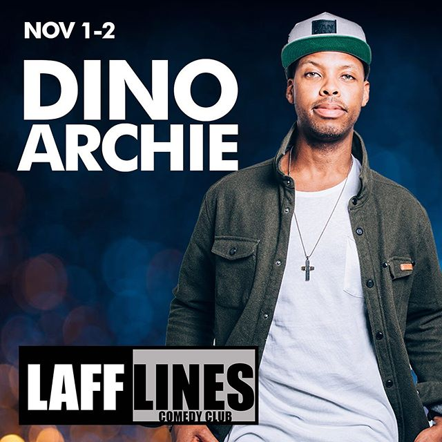"Look who's here Nov 1st!! It's @dinothebeloved 🔥🔥Get your tickets now as they're going fast!!! Just hit the ""Get Tickets"" button up top! #comedy #newwestminster #lafflinescomedyclub #newwestminsterbc"