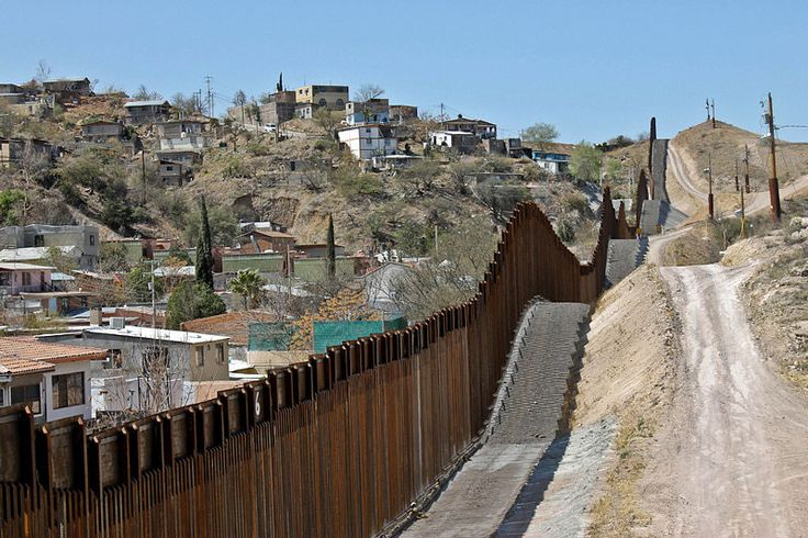 Wrong for the U.S.-Mexico border, but okay for cities. We shouldn't complain about people coming to our country with different cultures and values, but it's okay in our neighborhoods. Photo from  World Tribune .
