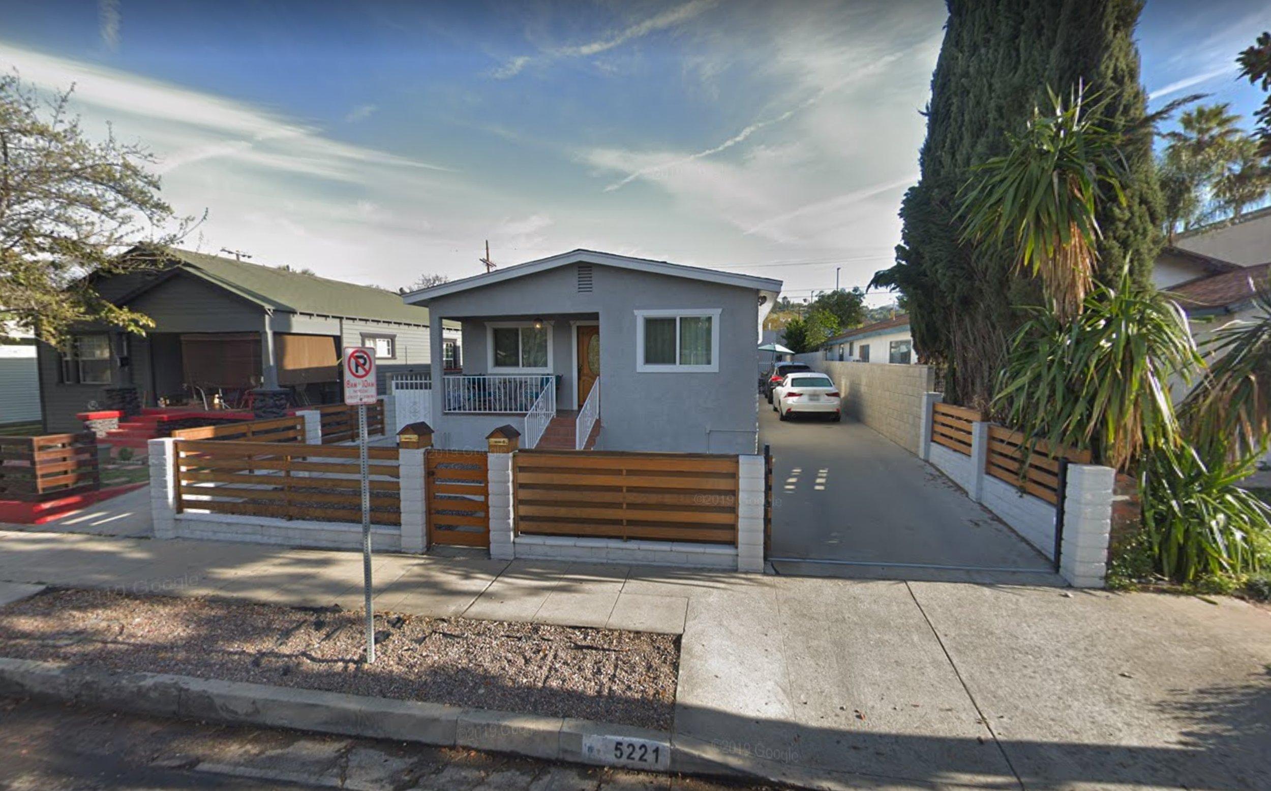 Luxury housing in Los Angeles, CA.