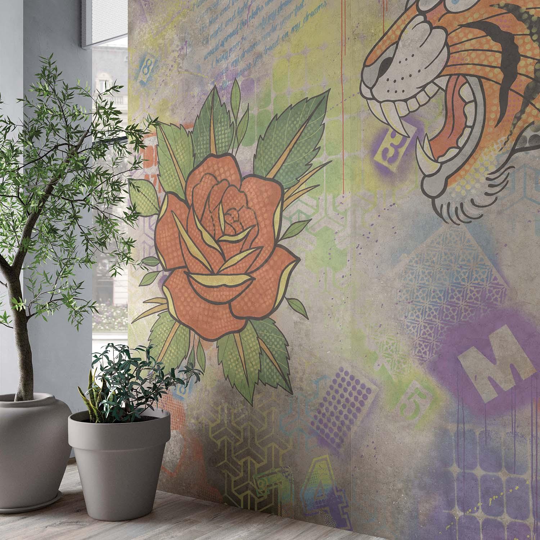 Hyper Rose Silver Tiger