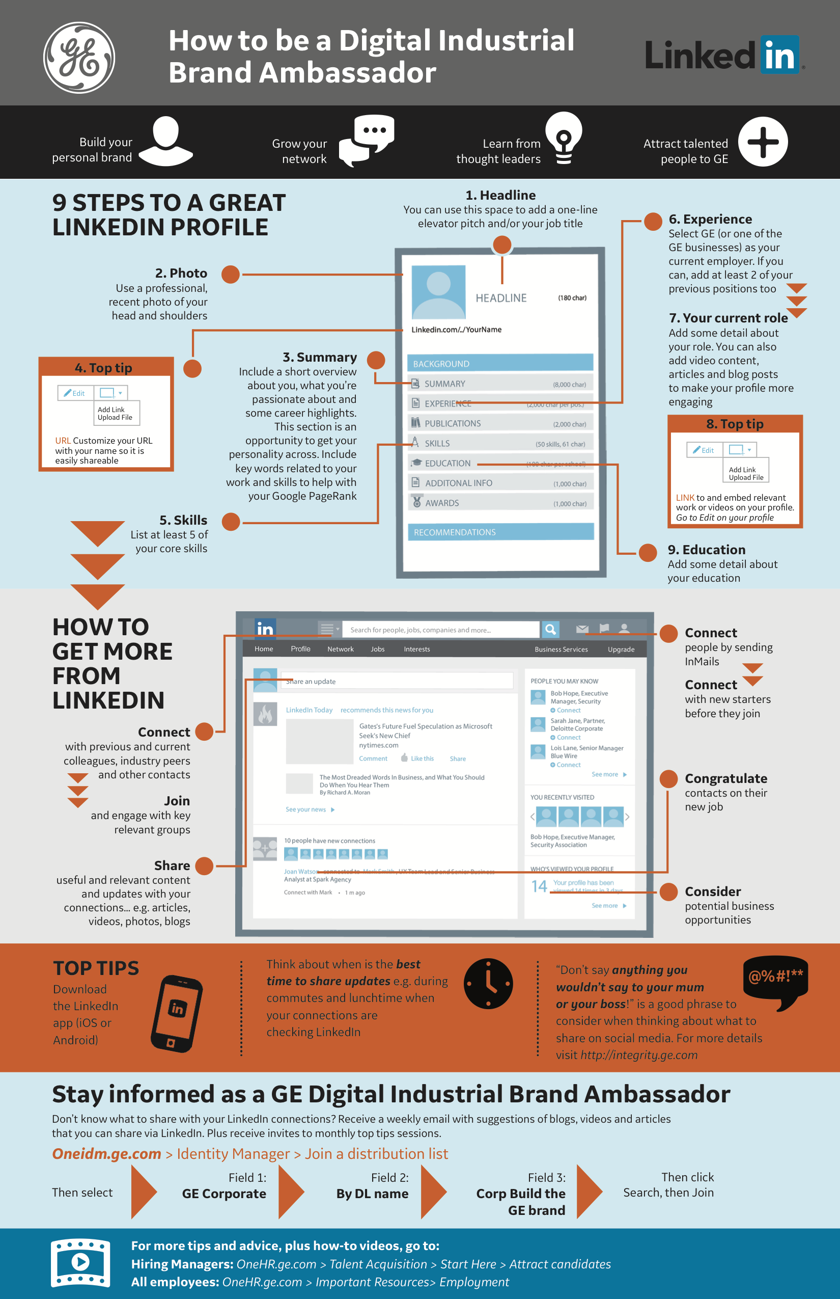 Example of brand ambassador infographic