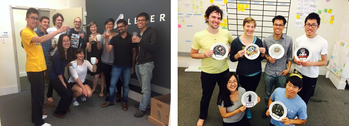 The Lever team, 2014