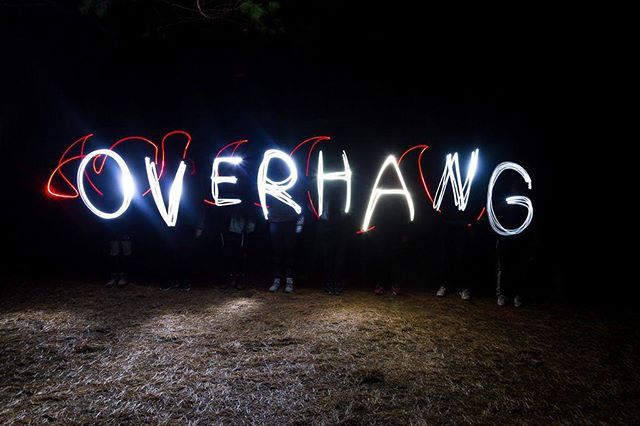 Thanks to Diego Guillen for this amazing shot! . . . . .  #overhangadventures #fun #awesome #goplayoutside #overhang #smile #ontario #yourstodiscover #camping #algonquinpark #light