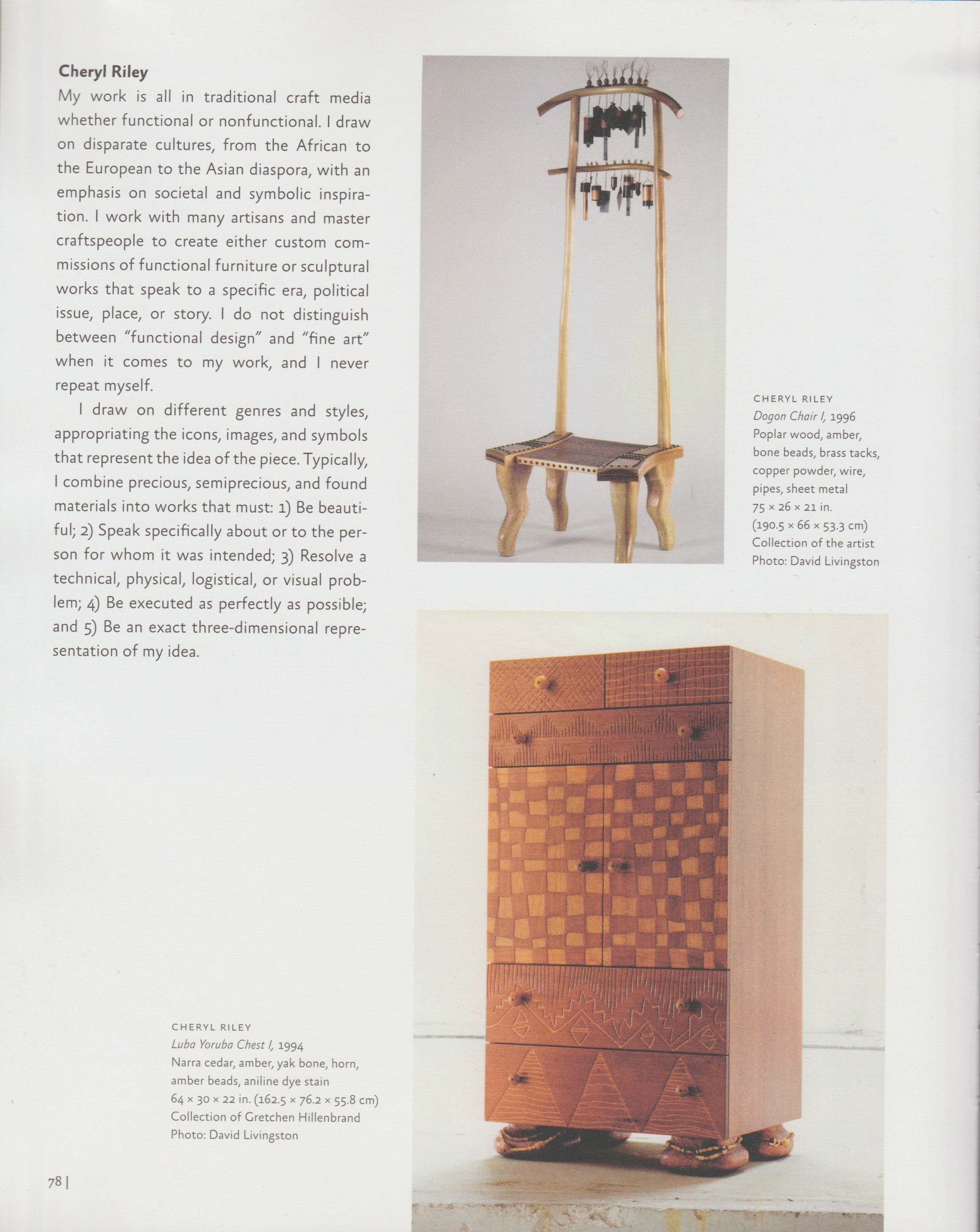 THE GLOBA AFRICA PROJECT-Dogon Chair, LubaYoruba Chest.jpg