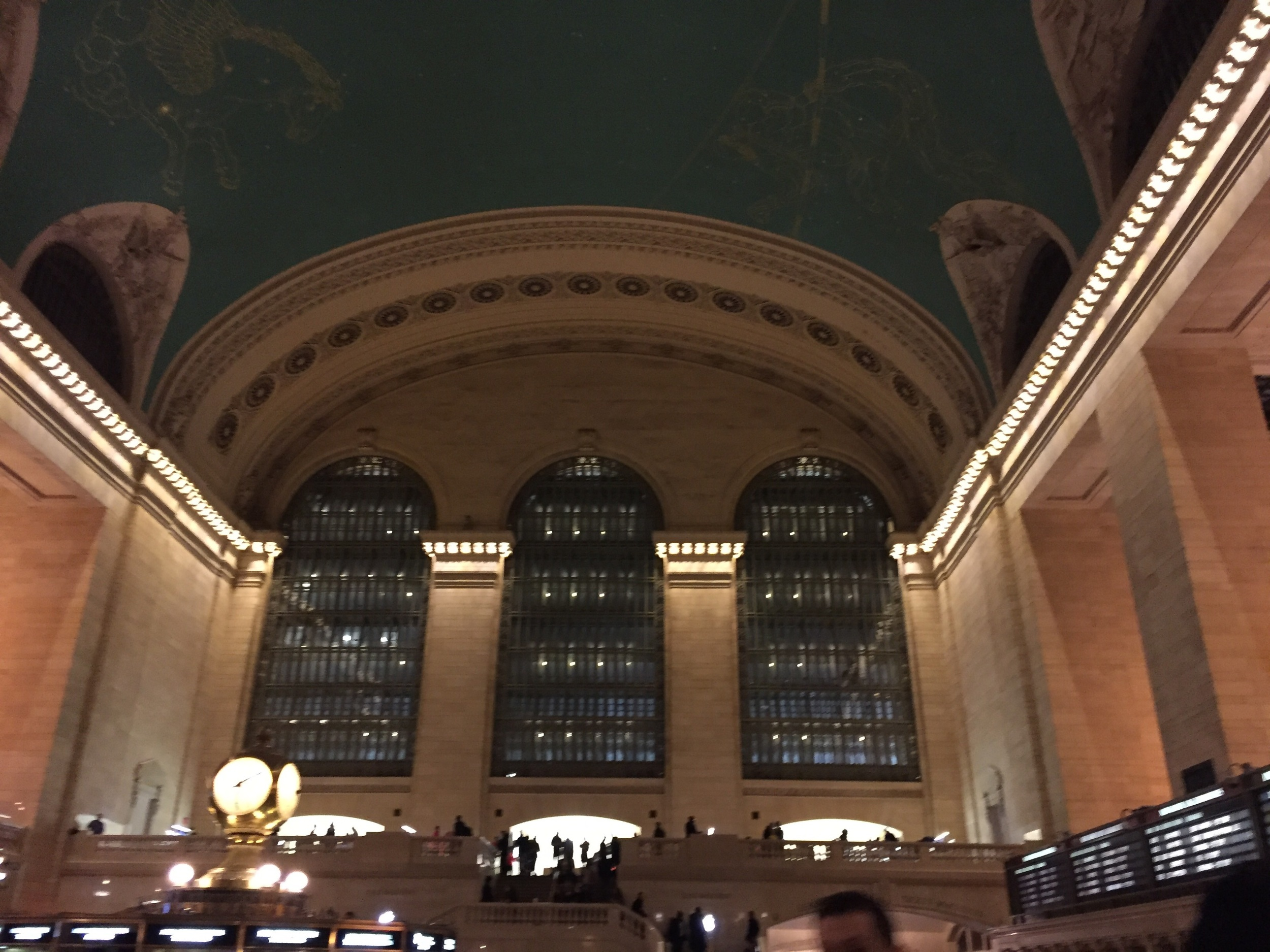 This is Grand Central Station - gorgeous and massive!
