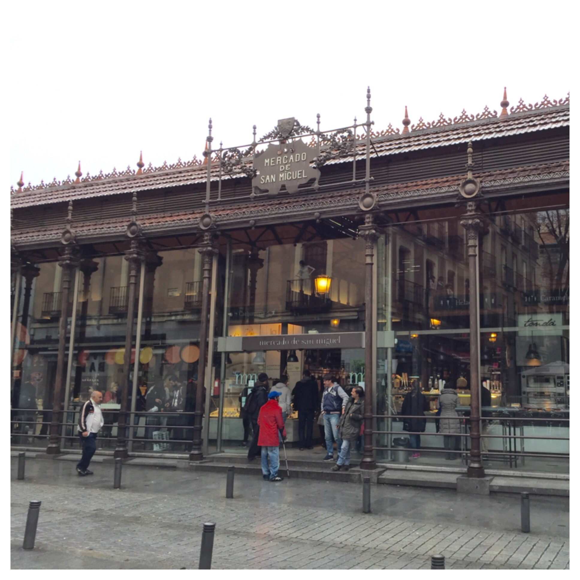 Mercado De San Miguel Market - I will most likely be back another time!!