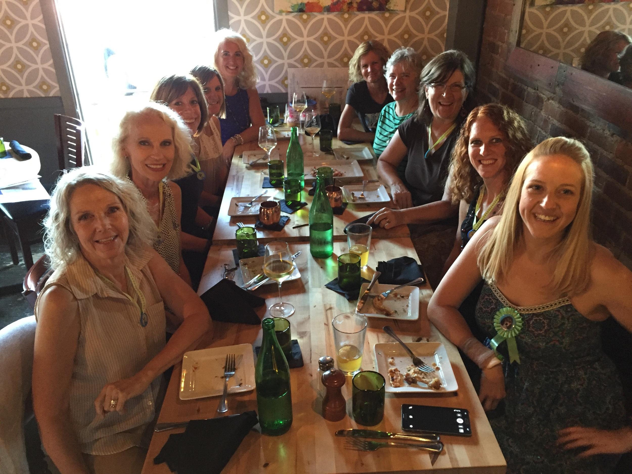 Birthday girls - Cheryl, Amity, Deidre and Ashby!! Great and very fun friends!