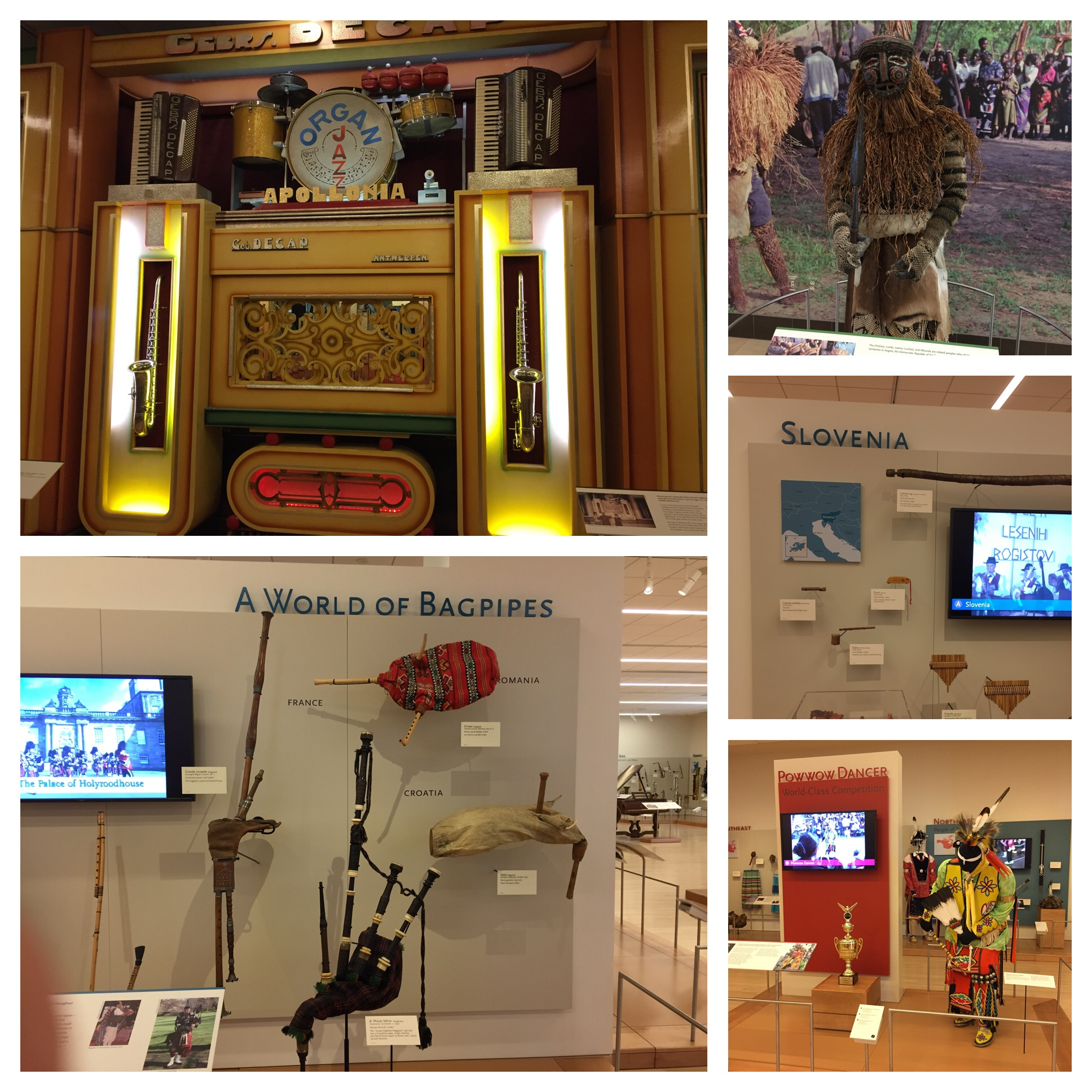 They have displays from just about every country around the world. So interesting!