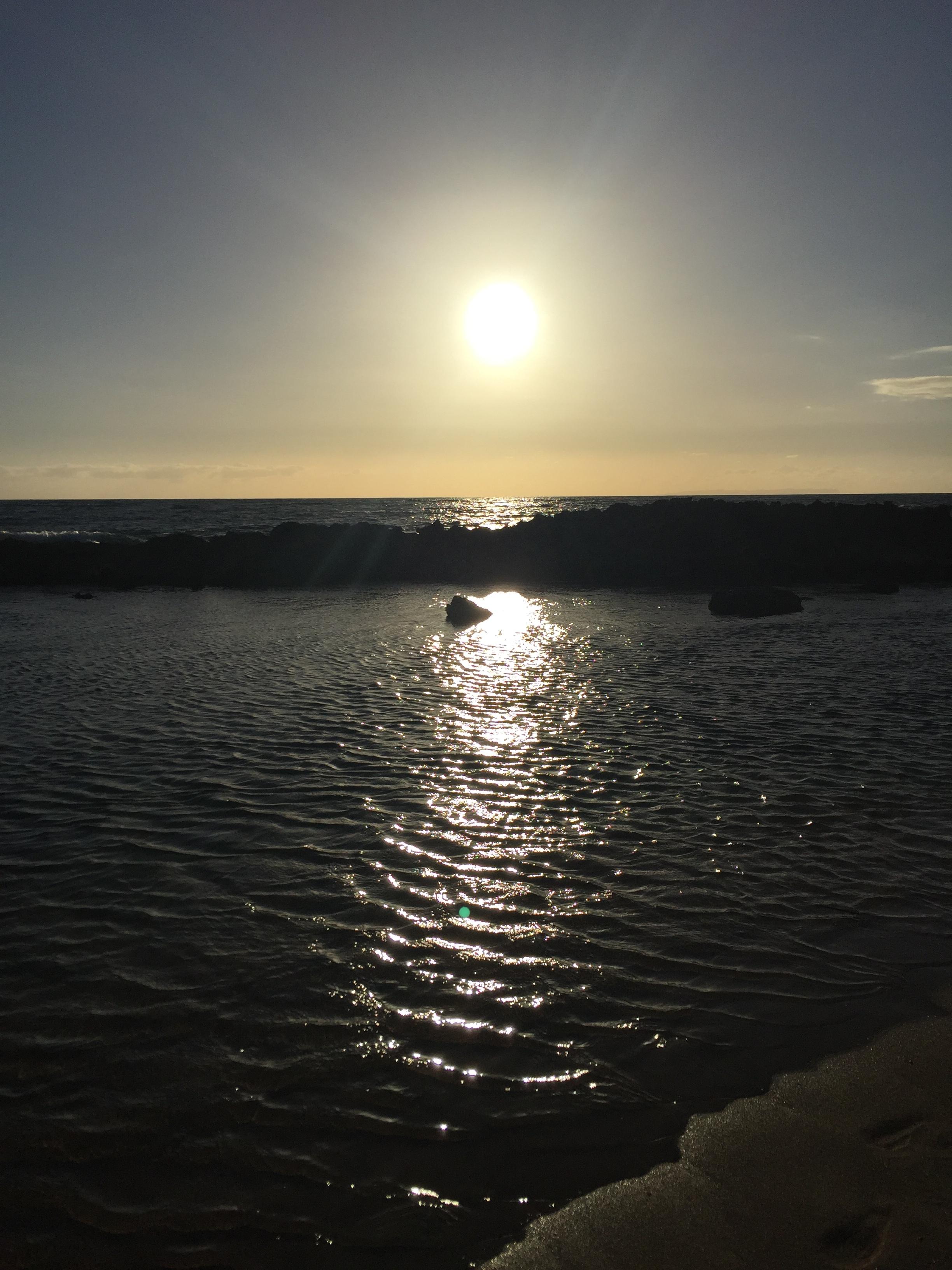 Sunset on Salt Pond