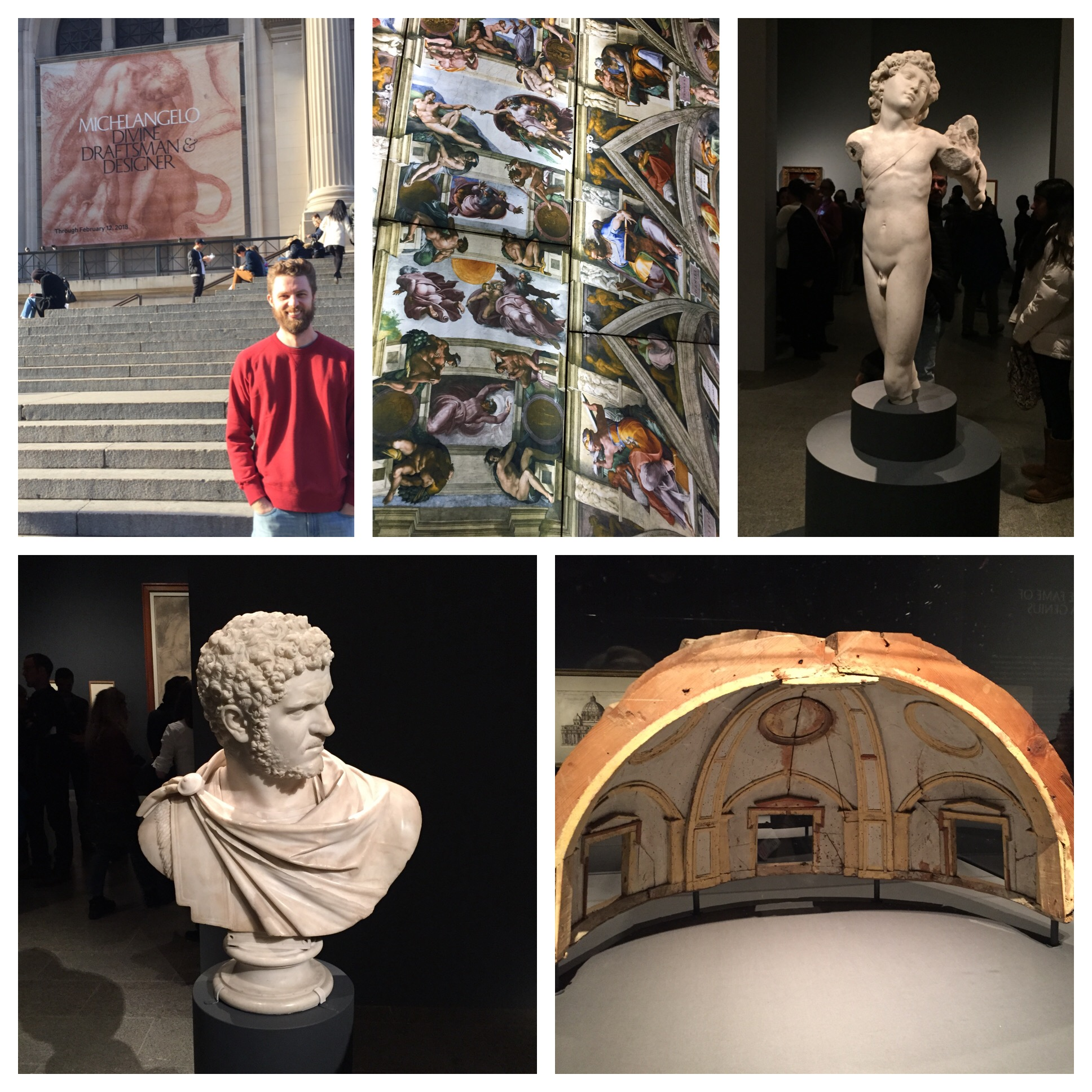 Includes a digital reproduction of the Sistine Chapel. Did you know Michelangelo designed St Peter's in Rome? The wooden model lower right is an original he built while designing it.