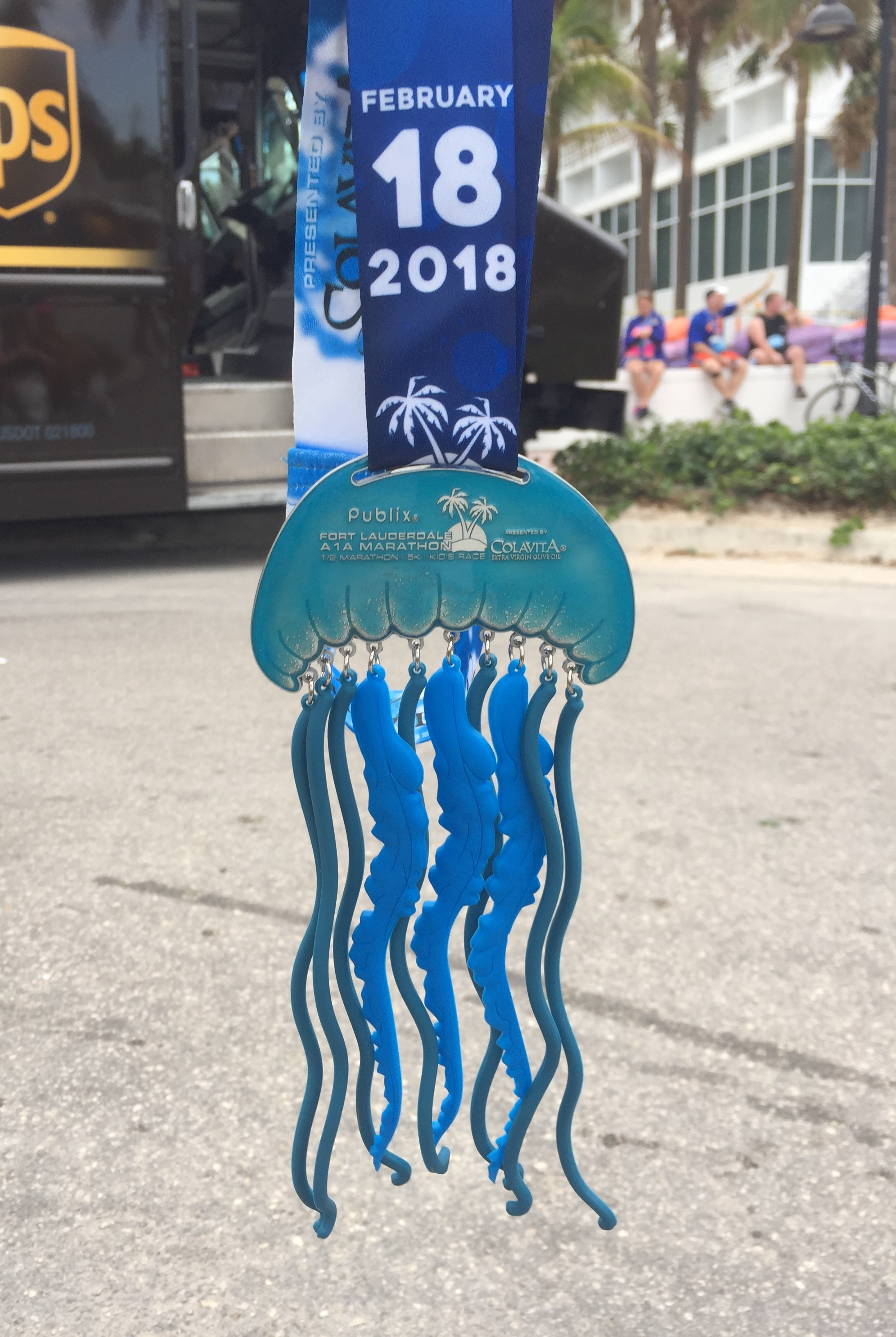 Definitely the award for most unique and creative medal!!!