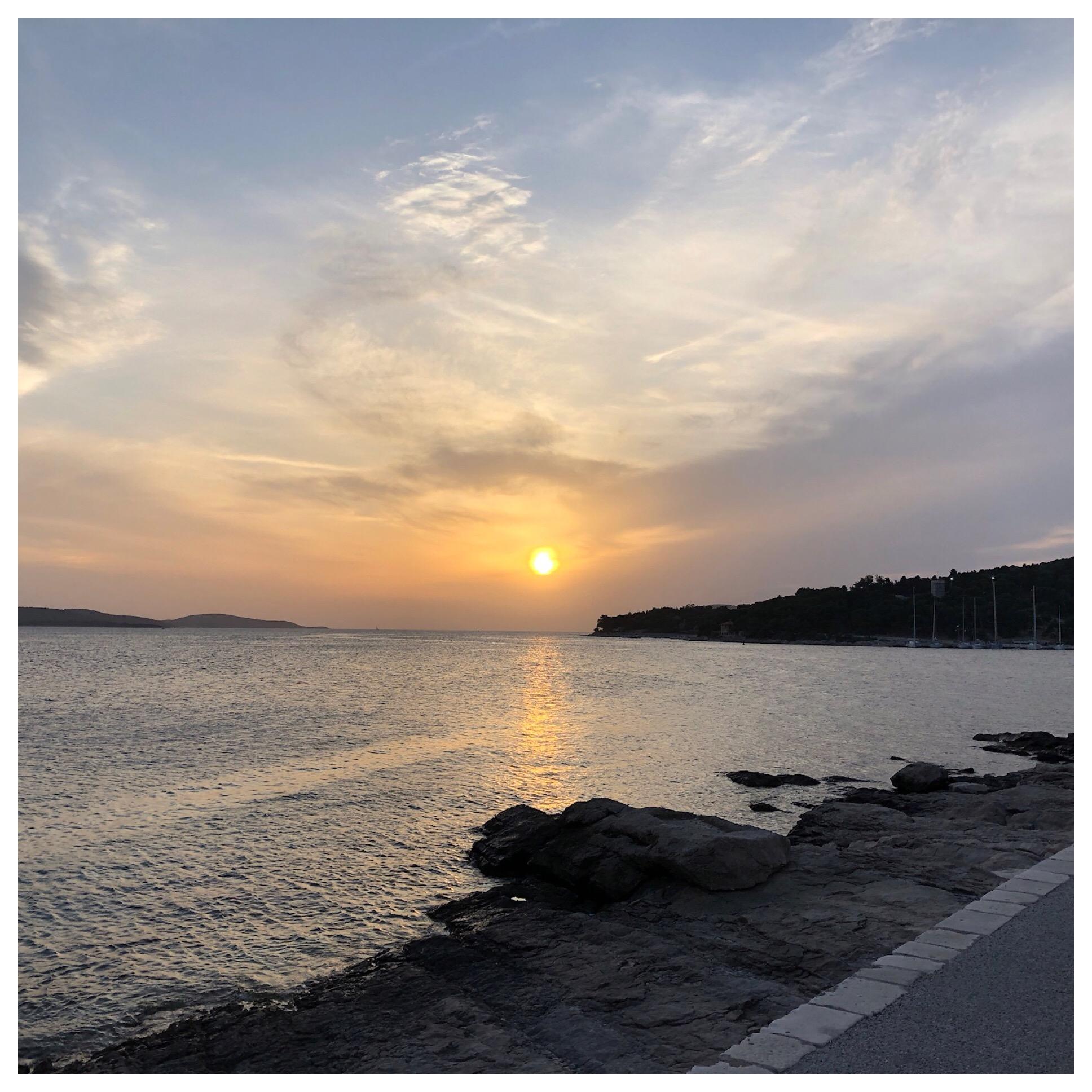 Sunset in Hvar💕