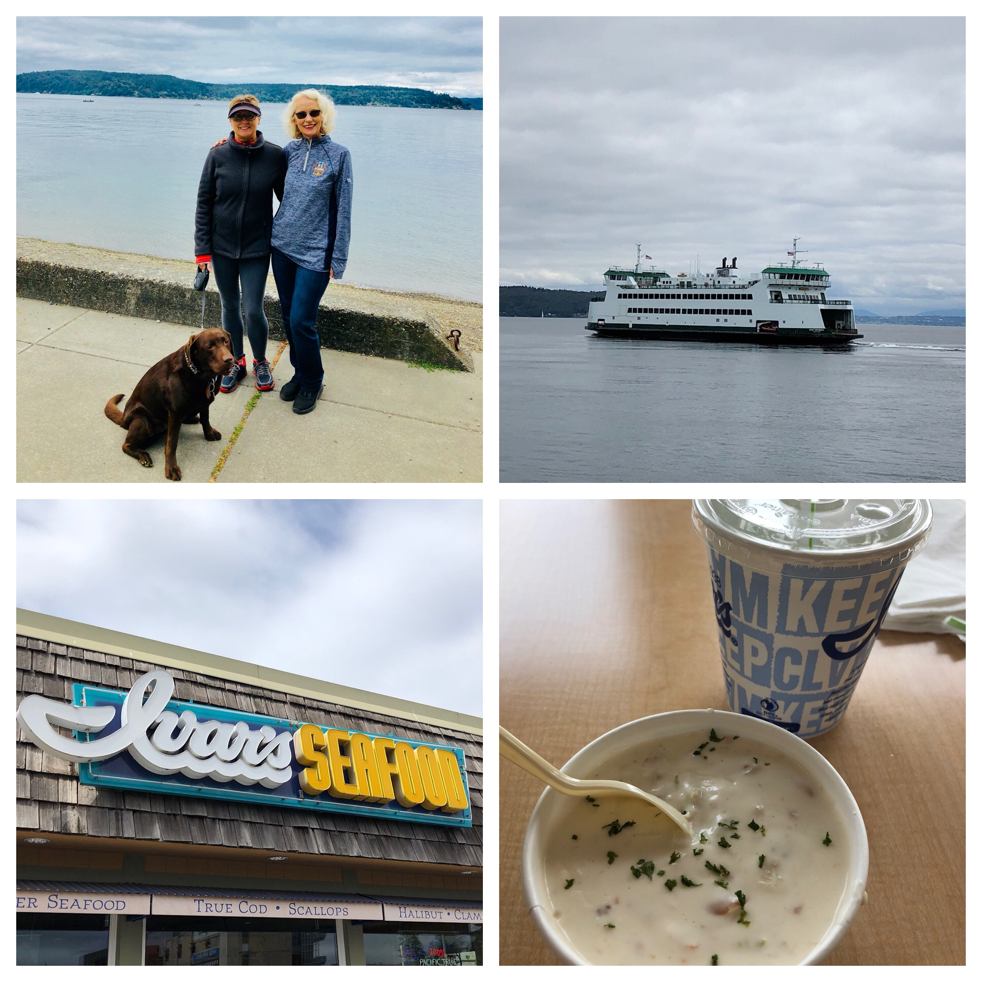 Ivars chowder - also a must so had it for lunch!