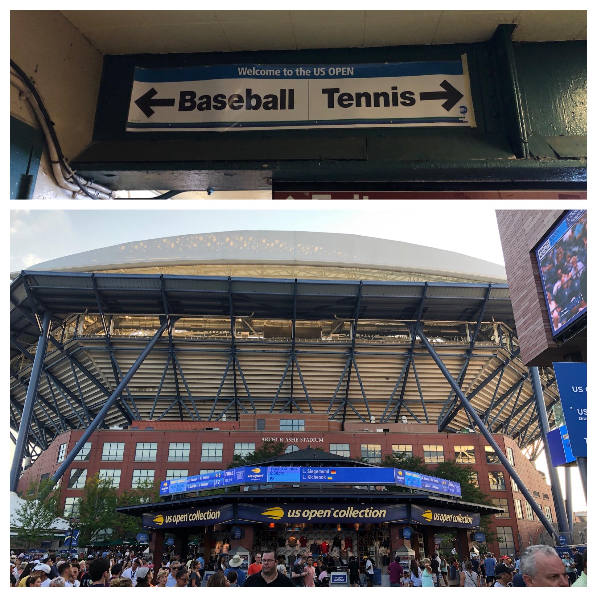 Arthur Ashe stadium or Center Court!