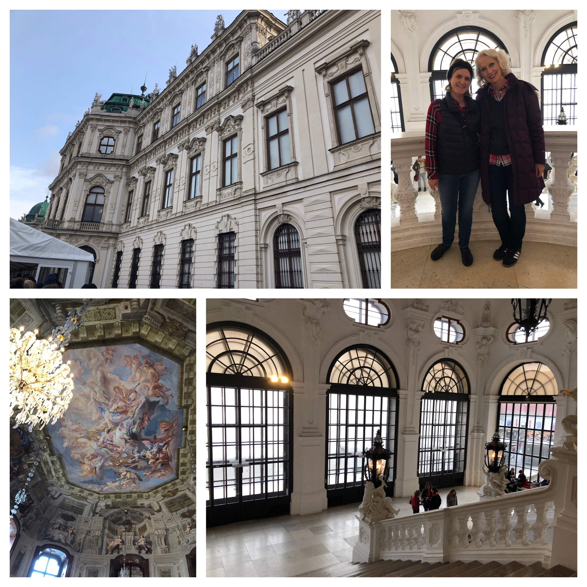 The palace is gorgeous!