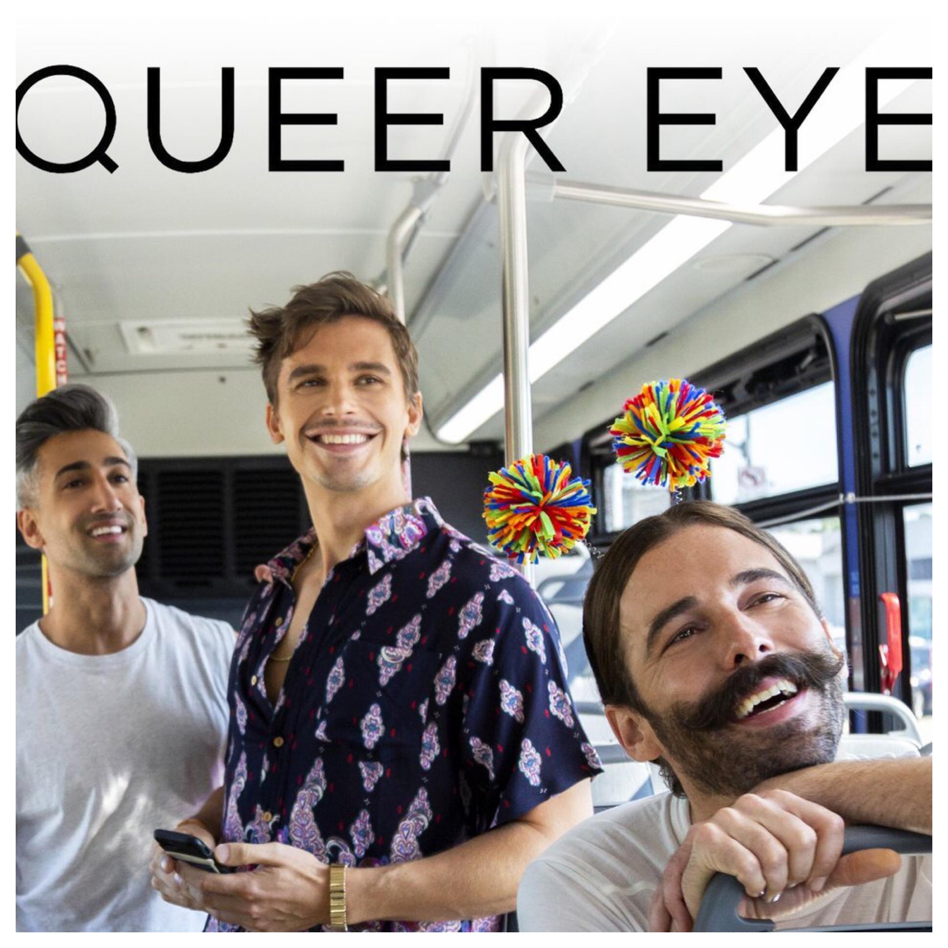 Tan, Antoni and Jonathon riding the bus in KC.