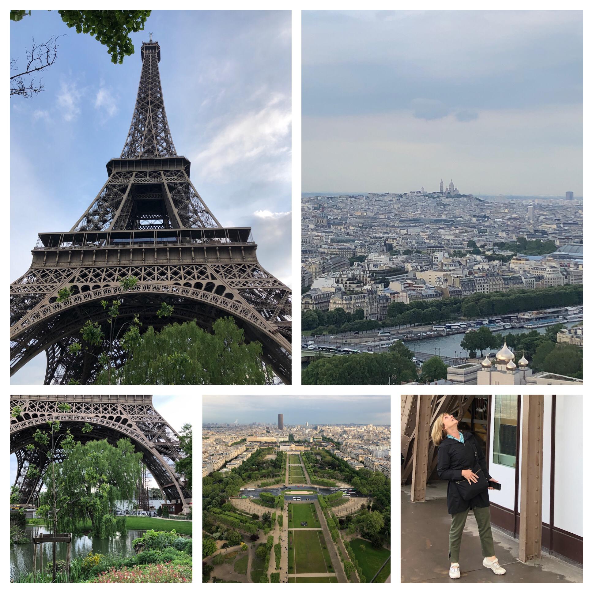 That's a great view of Montmartre and Sacré Cœur!