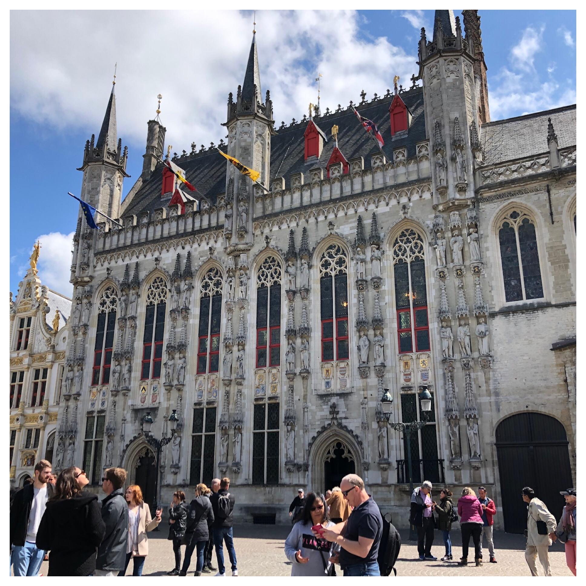 City Hall on Burg Square.
