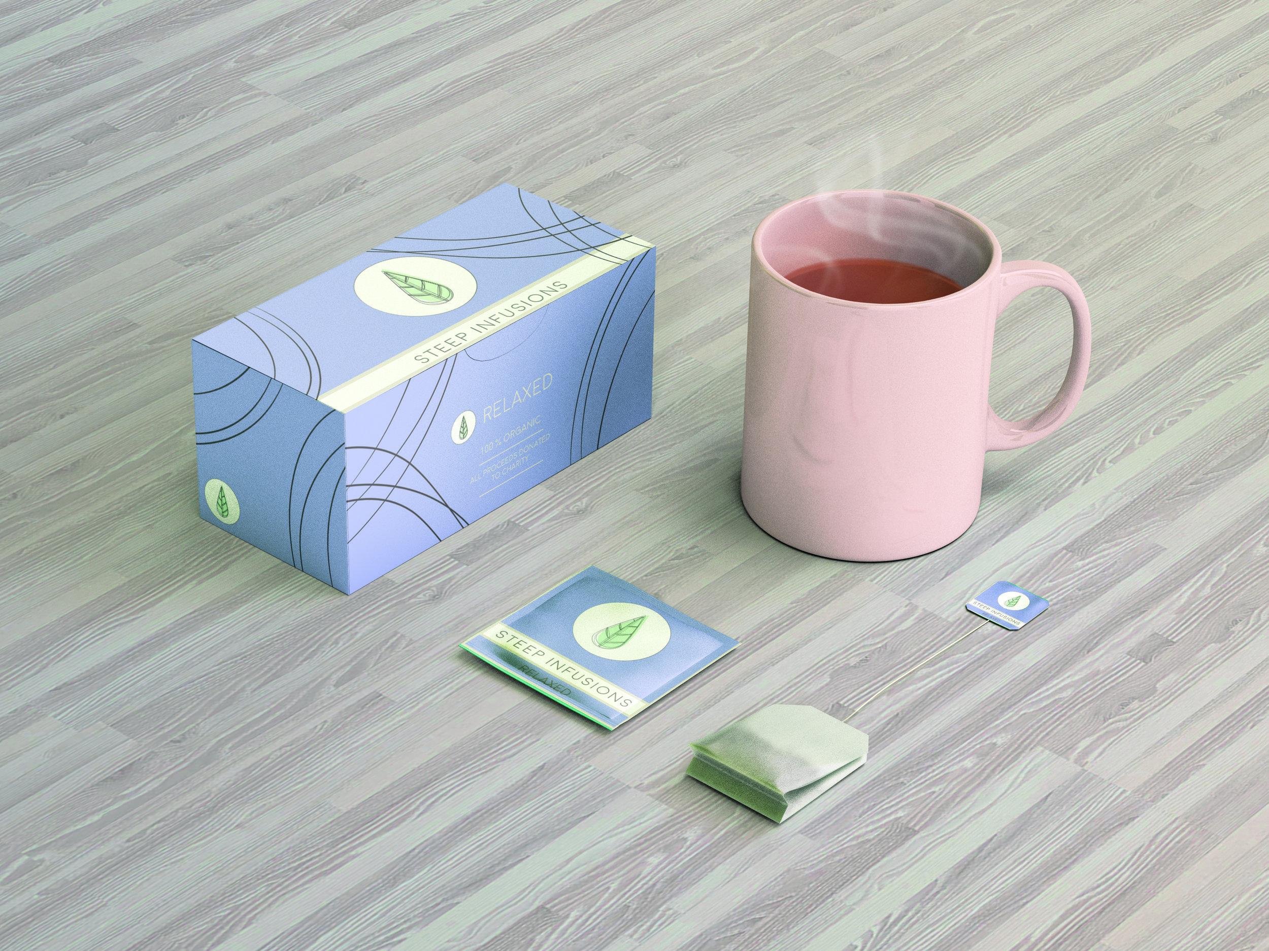 Branding Design and presentation for tea company.
