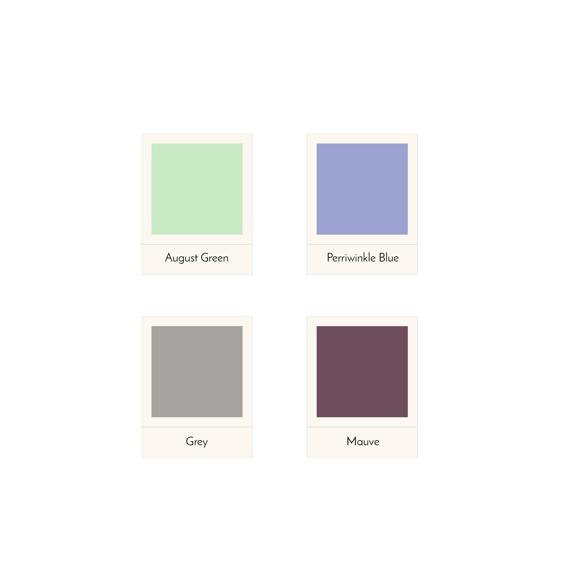Color palette Design Tea Company