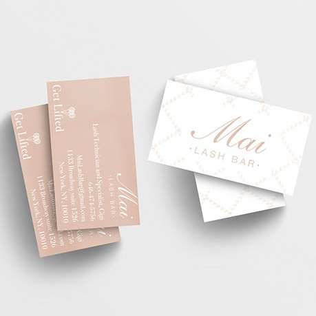 Beauty Brand Business Card Design