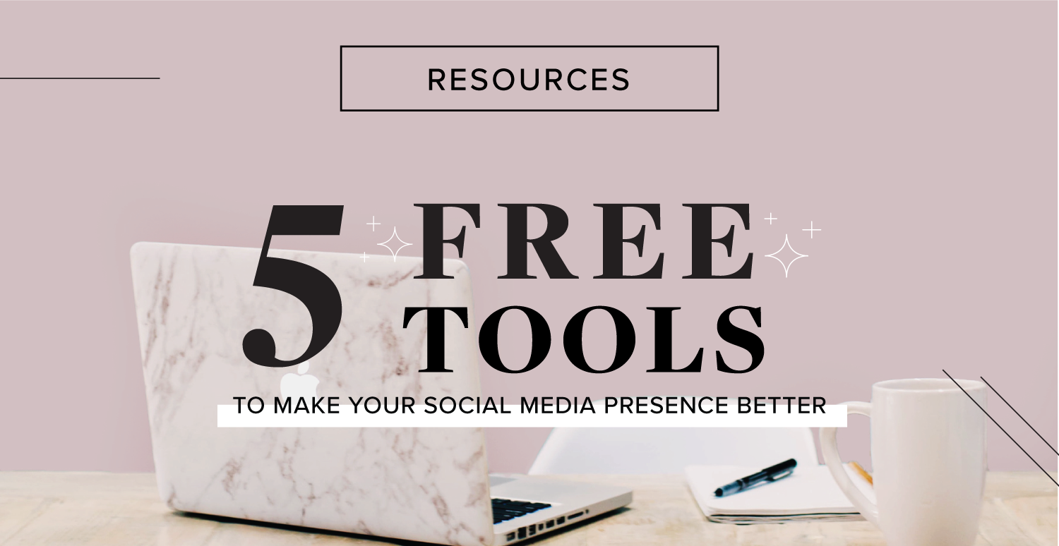 FreeResourcestomakeyoursocialmediabetter