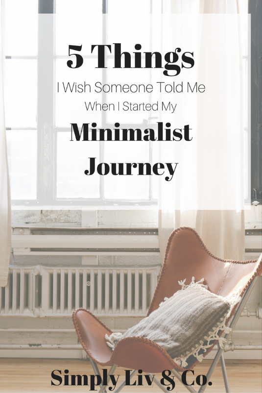 """Minimalism doesn't look the same for everyone. Here are five things every """"aspiring minimalist"""" should know before they jump in."""