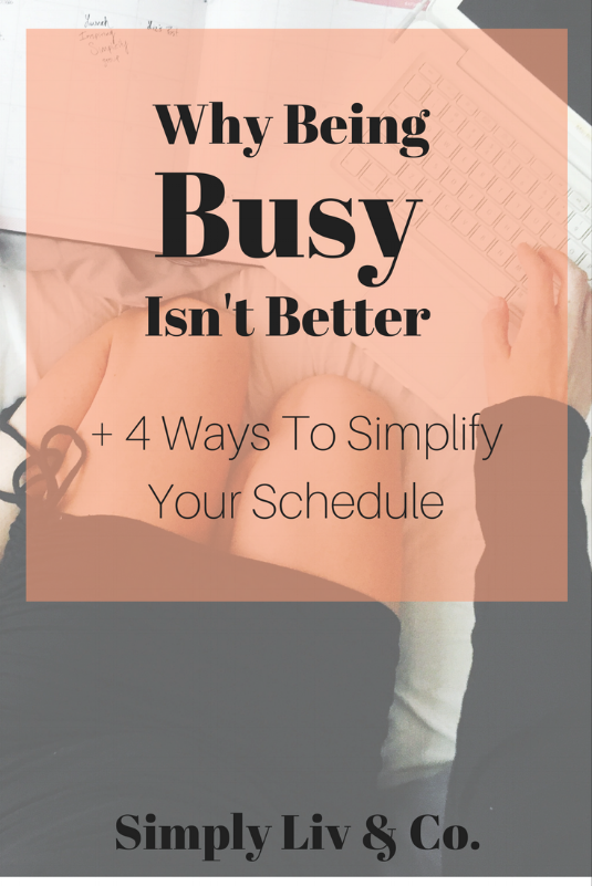 We live in a culture of constant business, but how does minimalism apply to your social schedule?