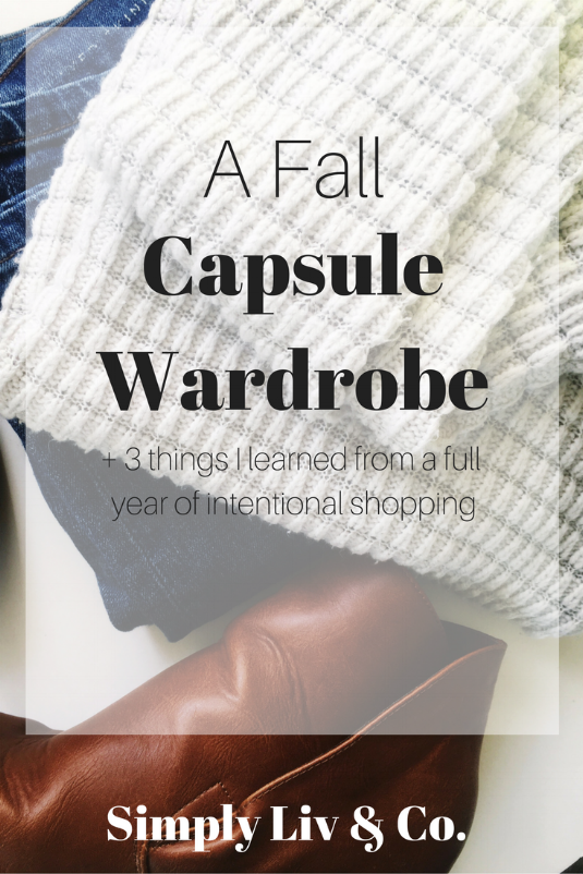 Capsule wardrobes are so much more than a closet full of basics. It means dressing for your lifestyle, learning YOUR personal style, and buying pieces you won't get sick of after a year. Here's the three biggest take-aways from my first full year of wearing a capsule.