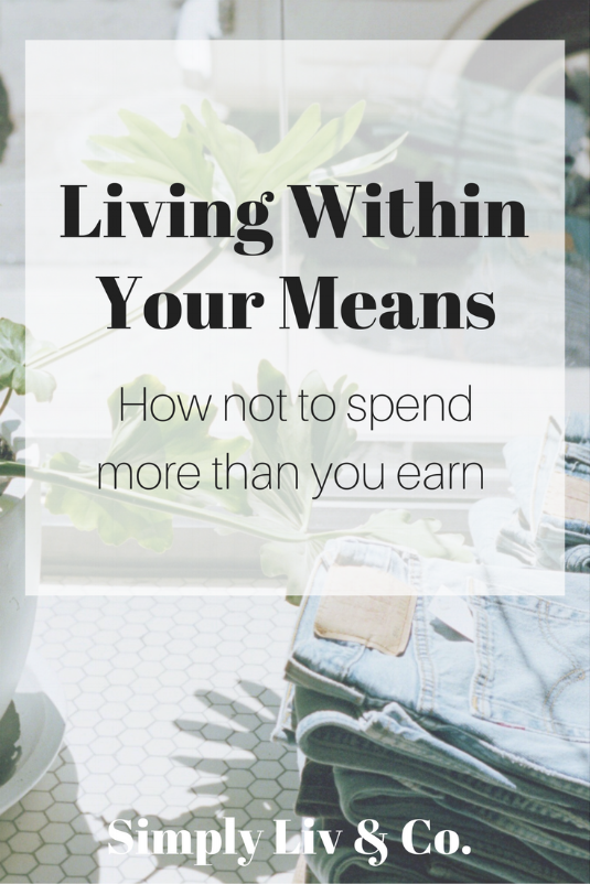 Debt isn't inevitable. Unfortunately, in today's society, it's all too common. With a simple mindset switch and some tweaks to your budget and lifestyle, living within your means will ensure that you never are in debt again — all part of living a simpler, more fulfilling life.