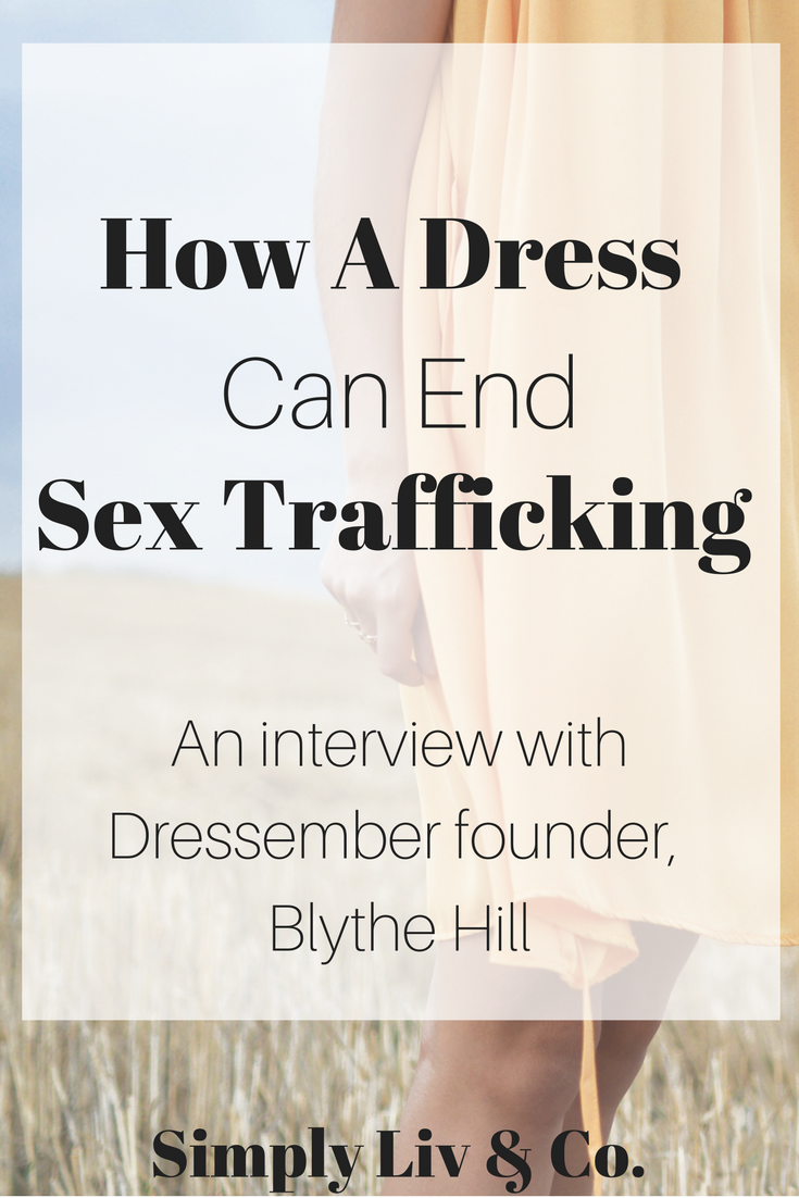 "Human trafficking feels like an untouchable issue that ""normal people"" can make no impact on. However, Blythe Hill, the founder of the Dressember movement, believes lasting change happens one person, and one dress, at a time. Join the movement and read more about an amazing movement in our interview with Blythe."