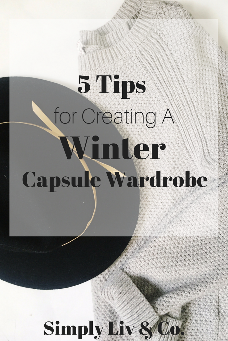 For many people, creating a cohesive wardrobe in the colder months is much more difficult than during the spring/summer months. These five must-know tips will help you make sure you curate a wardrobe you love all winter long and aren't stuck daydreaming of sunshine and the beach.