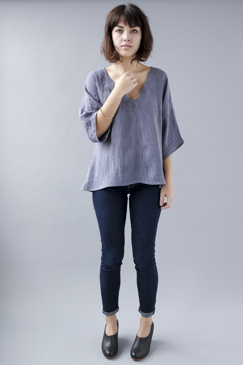 Temperate Jan dolman sleeve lotus periwinkle shirt.jpg
