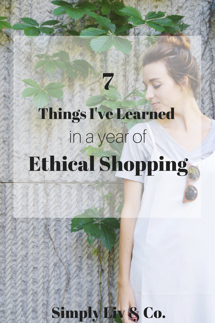 Jumping into the world of ethical fashion can be overwhelming. Here's how I've made it work for an entire year. And I'm never looking back.