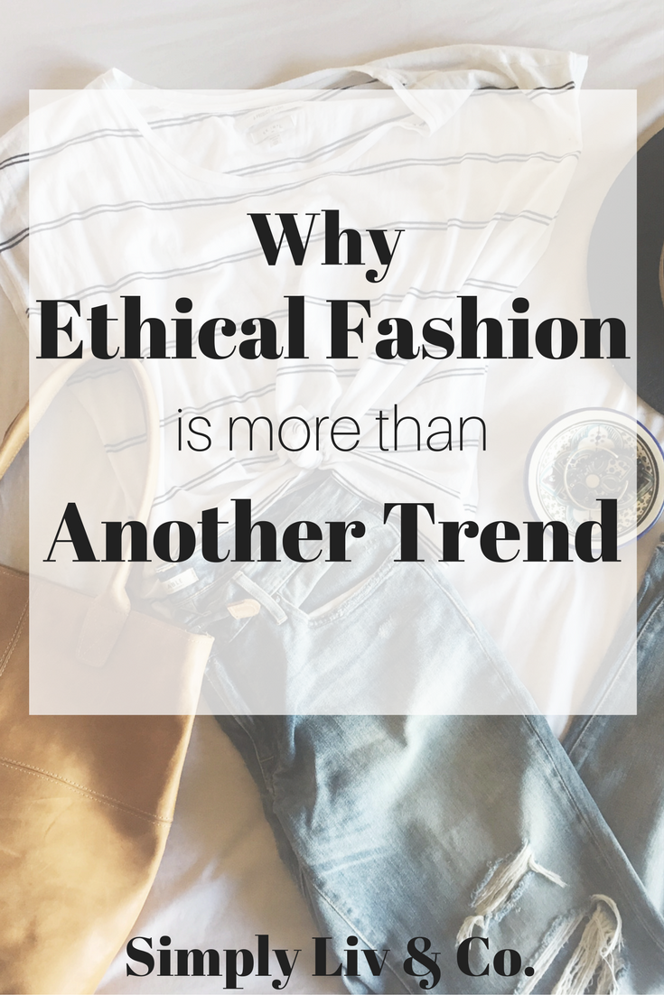 "It's easy to get caught up in the ""trendiness"" of shopping ethically. Here's how to make sure it's more than that."