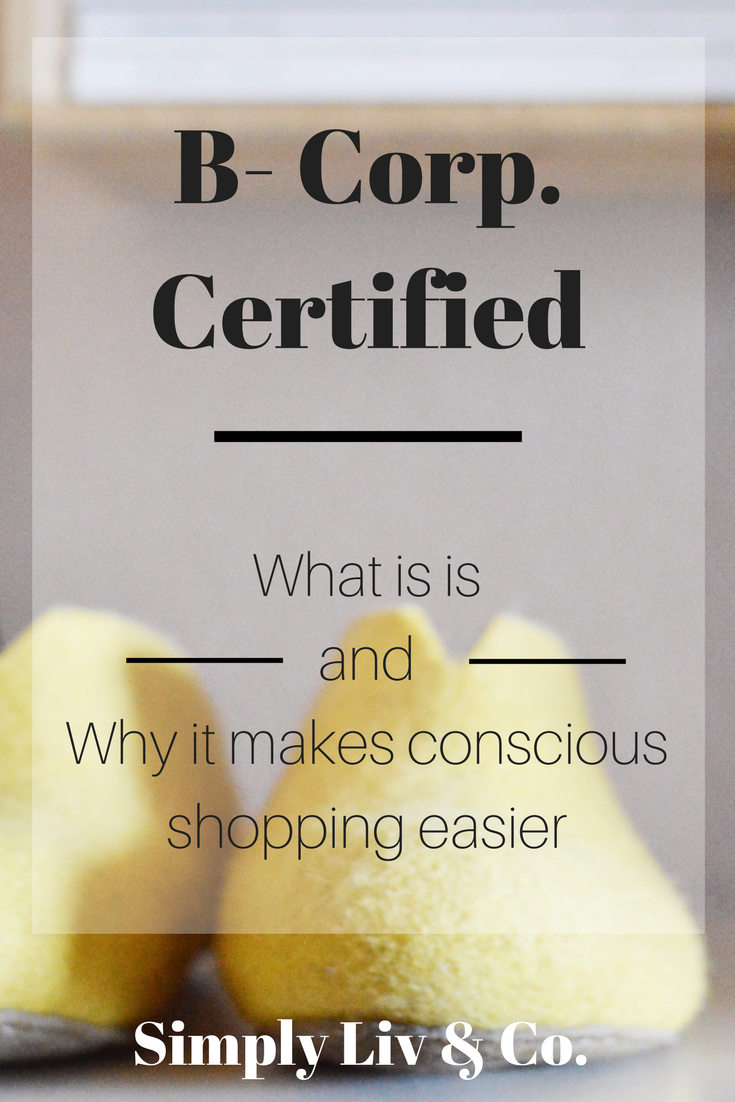 """Choosing to shop from ethical brands can bring skepticism into the mix. How do you know what the brand is claiming is really true? If you ever see the """"B Corp"""" symbol on a brand's website, here's what it means and why it will make your shopping (and trust issues) easier."""